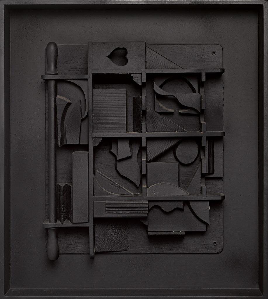 "Луиза Берлявски-Невельсон, ""Лунная Звезда I"", 1979"
