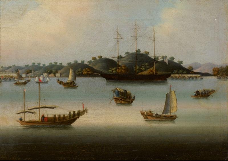 Вампоа, Династия Цин,около 1840