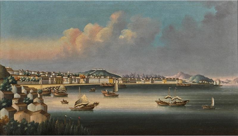 Макао, Династия Цин,около 1850