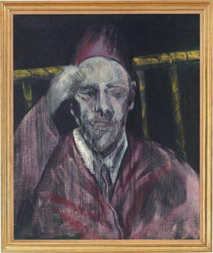 """Голова с поднятой рукой"" (Head with Raised Arm), 1955"