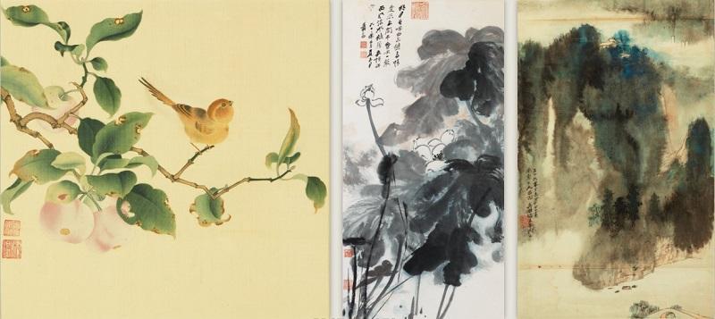 Китайская классическая живопись и каллиграфия