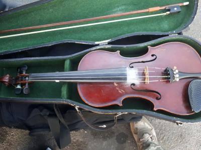 Скрипка, 1857