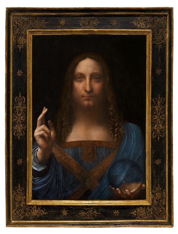 """Спаситель мира"" (Salvator Mundi), Леонардо да Вичи"
