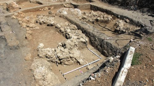 Раскопки византийского поселенческого комплексу в Горзувитах (Гурзуф - Южный берег Крыма)