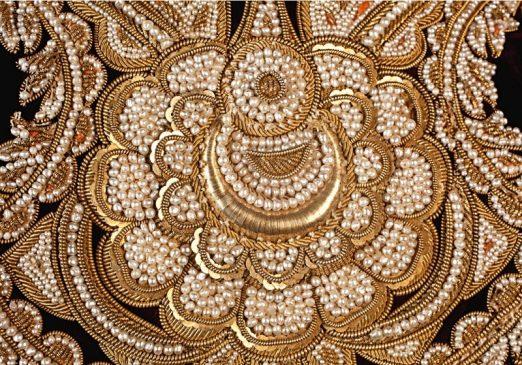 Королевский кафтан магараджи из индийской Басры, 19 век