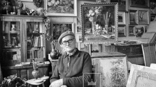 Шишко Сергей Федорович - выдающийся украинский живописец, мастер пейзажа и натюрморта