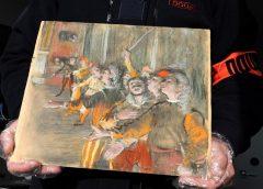 """Во Франции нашли пропавшую восемь лет назад картину Эдгара Дега """"Хористы"""""""