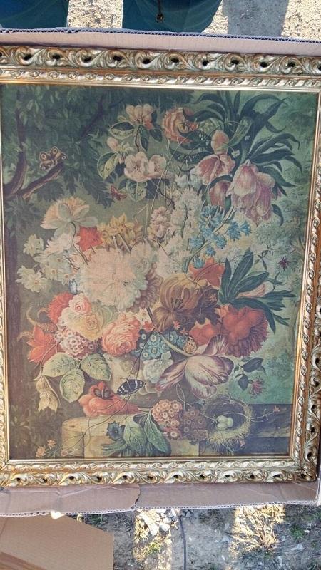 Пограничники перехватили две картины Нигга Йозефа из серии «Цветочные натюрморты»