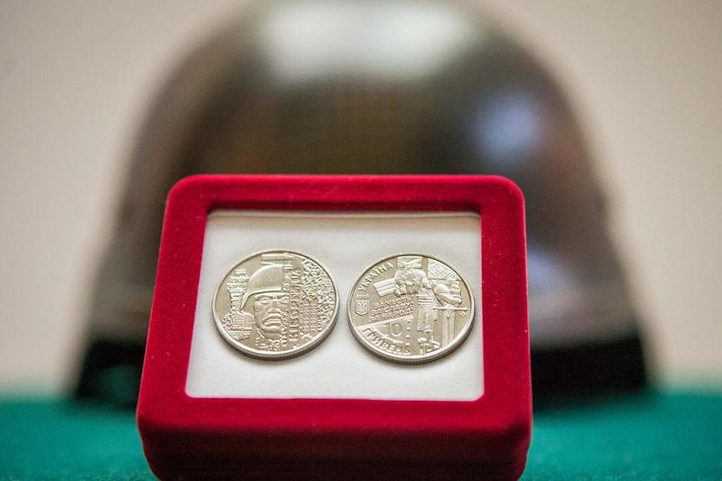 НБУ выпустил памятную монету в сплаве из цинка «Захисникам Донецького аеропорту»