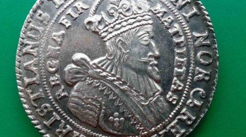 Талер 1644 год. Норвегия