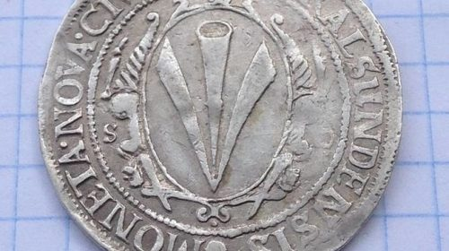 Полуталер, Штральзунд 1637
