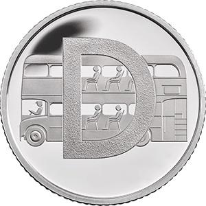 D - Double decker bus