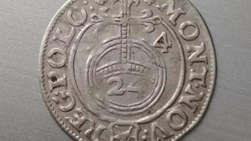 Коронный полторак Яна Казимира 1654