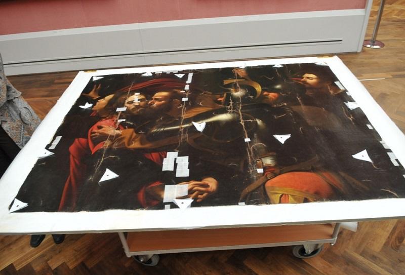 """Кража """"Поцелуя Иуды"""" из Одесского музея. Картина стала """"вещдоком"""" и больше не Караваджо"""