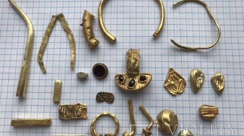 Лот античного золота
