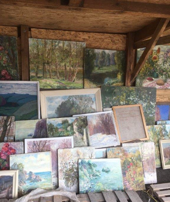 Государственный рэкет. У украинца отобрали 210 картин, который он пытался вывезти из ОРДЛО