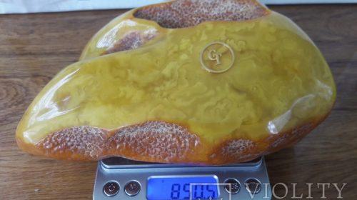 Старый Калининградский янтарь 850 грамм