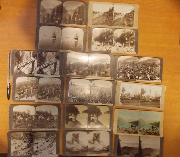 Из Украины не дали вывезти стереофотографические открытки 1917 года