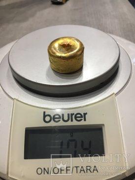 Аффинажное золото, 174 г. 99,758%. Марка - ЗлСрМ.