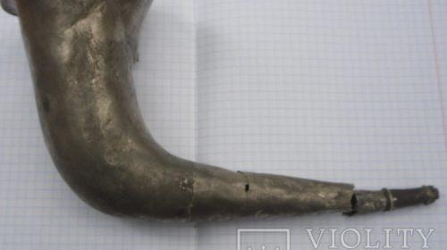 Ритон серебреный рог