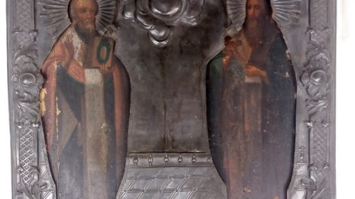 Икона Св Миколай і Св. Василій, перша половина 19 ст