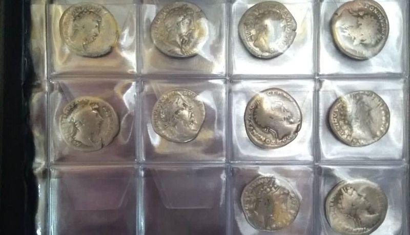 В Италию не дали вывезти серебряные денарии времен Римской империи