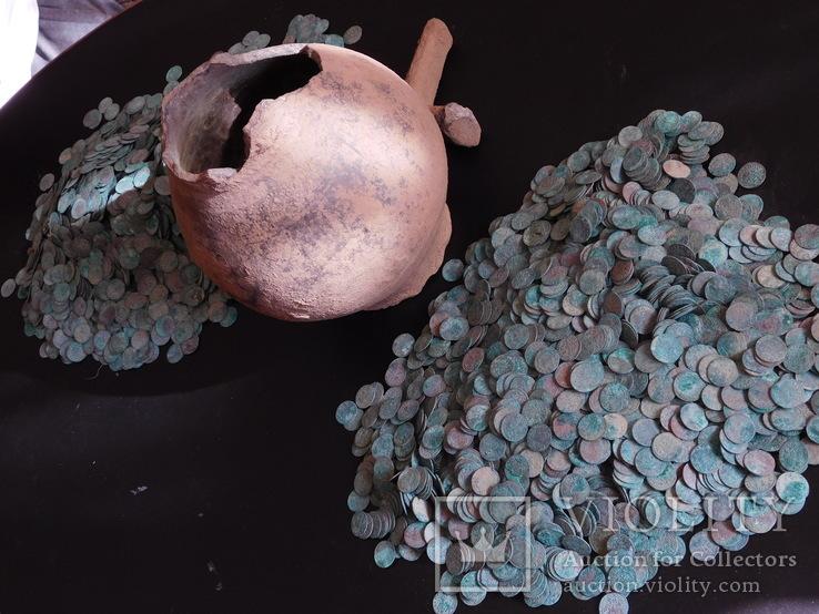 Монеты 6614 штук