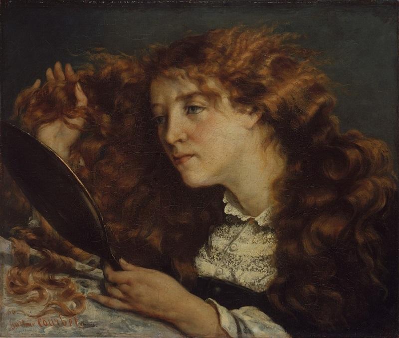 Прекрасная ирландка (Портрет Джо), Гюстав Курбе, 1866, музей Метрополитен, Нью-Йорк