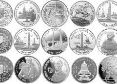 Первые памятные монеты Украины: 200000, 1000000 и 2000000 карбованцев