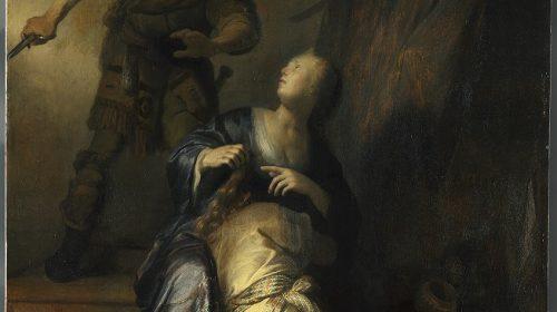 SAMSON EN DELILA 1628, Rembrandt