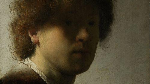 ZELFPORTRET 1628, Rembrandt