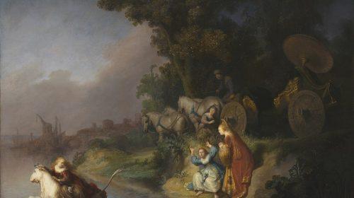 DE ROOF VAN EUROPA 1632, Rembrandt