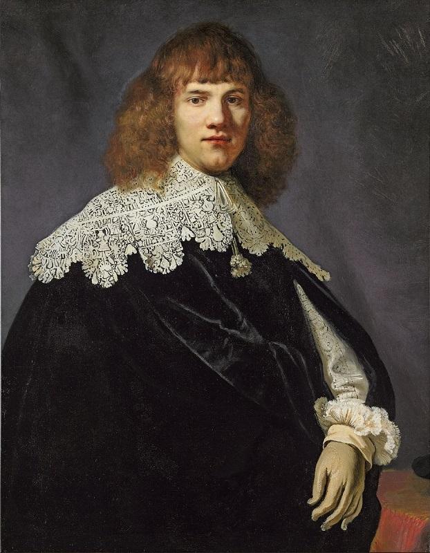 Рембрандт «Портрет молодого человека» 1634, холст, масло, 94,5 × 73,5 см