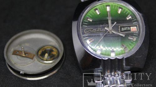 Часы Слава Транзистор Дата