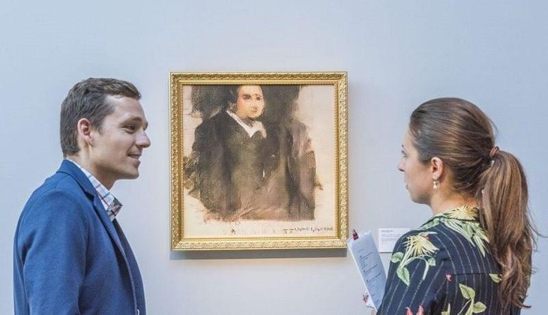 Портрет Эдмона Белами