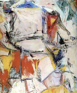 """Обмен"" (Interchange), Виллем де Кунинг (1904-1997), 1955 года"