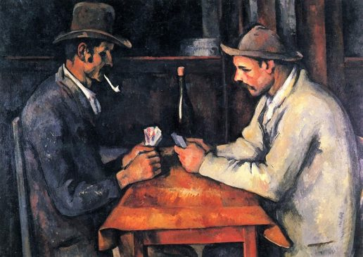 «Игроки в карты» (The Card Players), Поль Сезанн (1839—1906), 1894–1895 годы