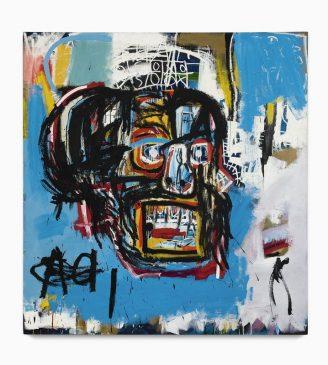 Безымянная картина Жан-Мишель Баския (1960-1988), 1982 год
