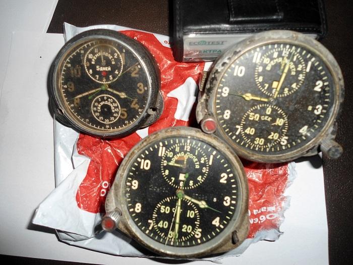 авиационные часы времен СССР