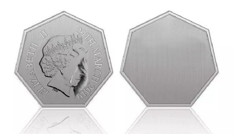В Великобритании выпустят монету в 50 пенсов по случаю выхода страны из ЕС