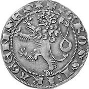 Пражский грош Вацлава II