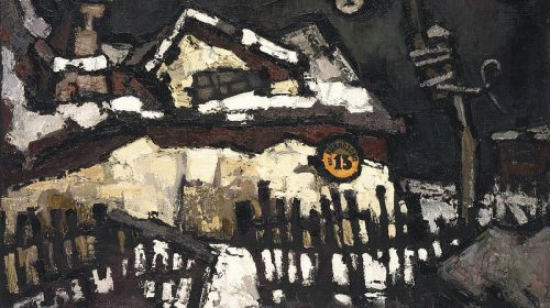 Оскар Рабин (1928-2018), Лианозово, 13, 1962