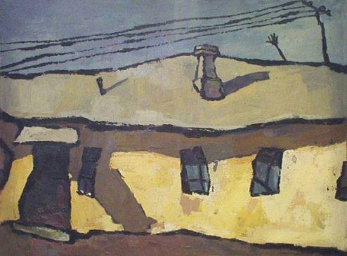 Оскар Рабин (1928-2018), Оптимистический пейзаж, 1959