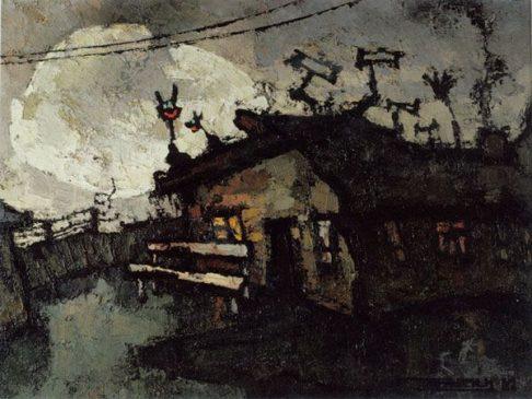 Оскар Рабин (1928-2018), Шурин дом, 1962