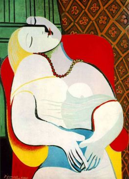 «Сон» (Le Rêve), 1932, Пабло Пикассо