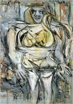 «Женщина III» (Woman III), 1951-1953, Виллем де Кунинг