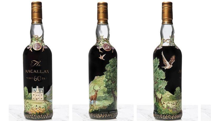 Самый дорогой напиток в мире. За бутылку виски The Macallan заплатили 1,2 млн фунтов стерлингов