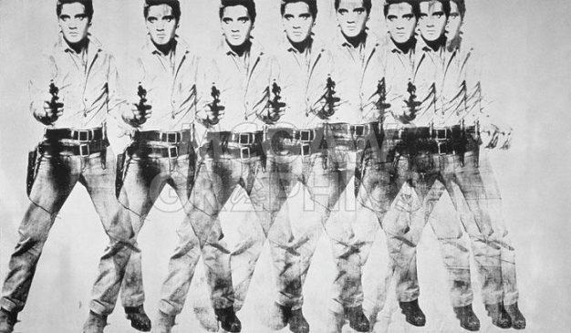 """""""Восемь Элвисов» (Eight Elvises), 1963, Энди Уорхол"""
