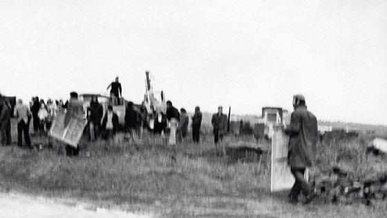 """""""Бульдозерная выставка"""" в Москве, 15 сентября 1974 года"""