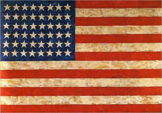 """""""Флаг» (Flag), 1958, Джаспер Джонс (1930-...)"""
